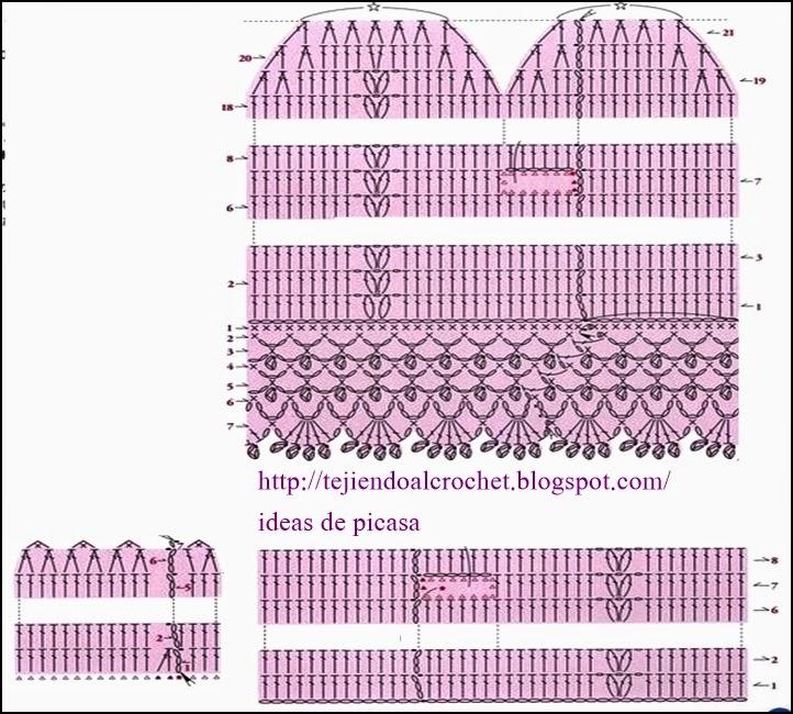crochet fabric , CROCHET - GANCHILLO - PATRONES - GRAFICOS: May 2014