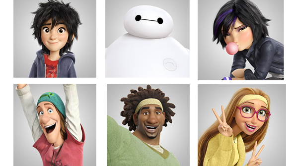 Afa animation for adults big hero 6 voice cast announced full