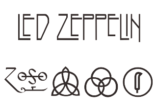 Led Zeppelin Logo Vector