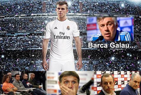 Kegalauan Barcelona berlanjut, Masih Persoalkan Transfer Bale ke Madrid