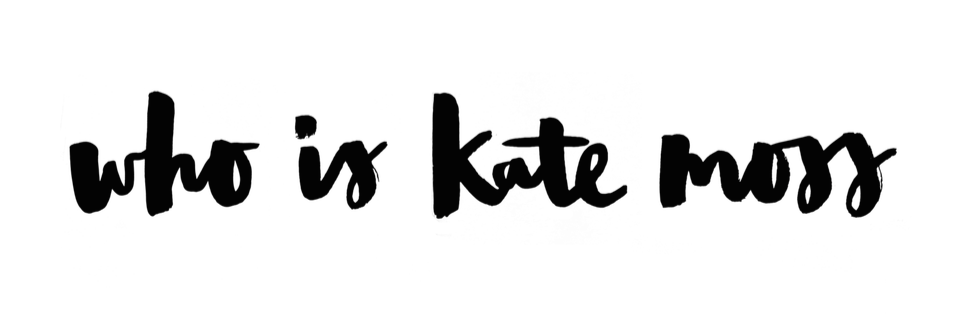 Who Is Kate Moss