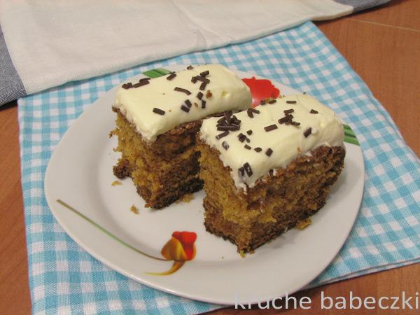 Ciasto z dynią i mascarpone - pycha :))