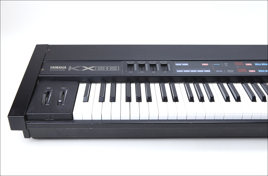 Matrixsynth yamaha kx88 weighted 88 key keyboard midi controller for Yamaha fully weighted keyboard