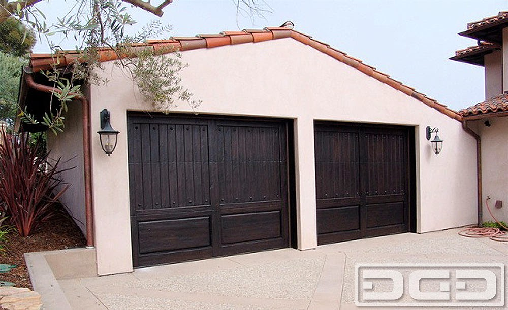 Custom Made Wood Garage Doors