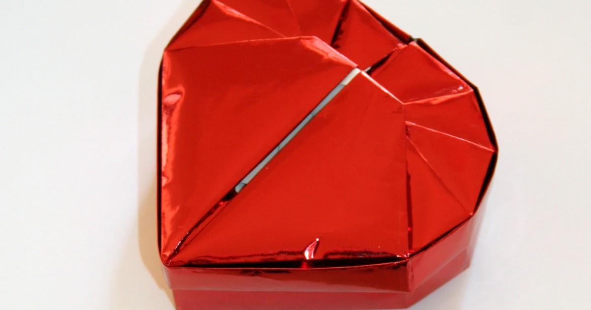 Origami Heart Box Instructions
