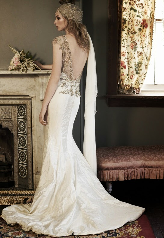 White And Gold Mermaid Wedding Dresses : White and gold mermaid wedding dresses