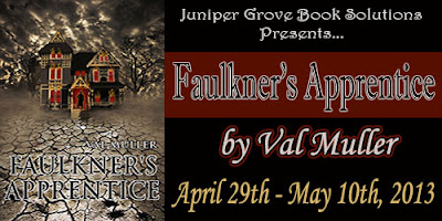 Faulkner's Apprentice By Val Muller Book Tour