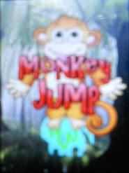 Game java Monkey jump tegos 240X320