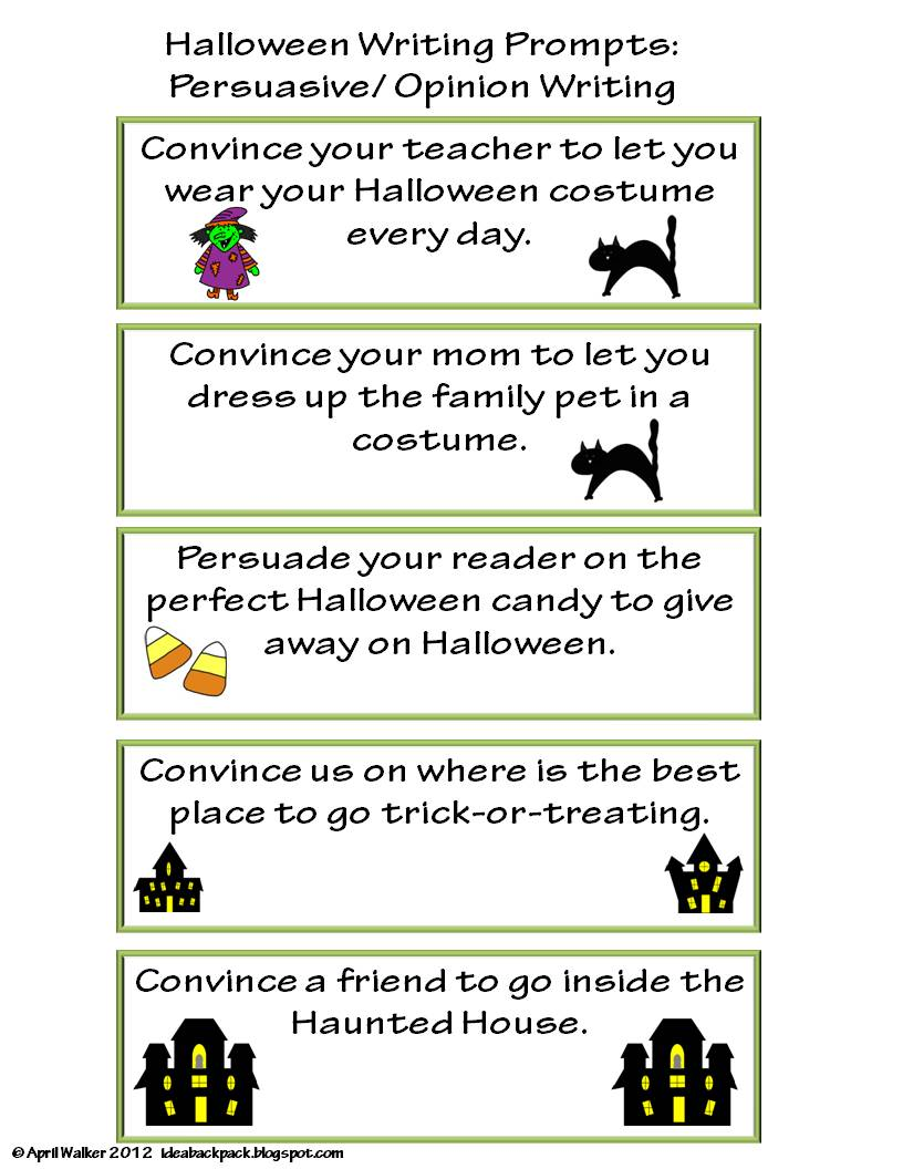 4th grade fun writing prompts