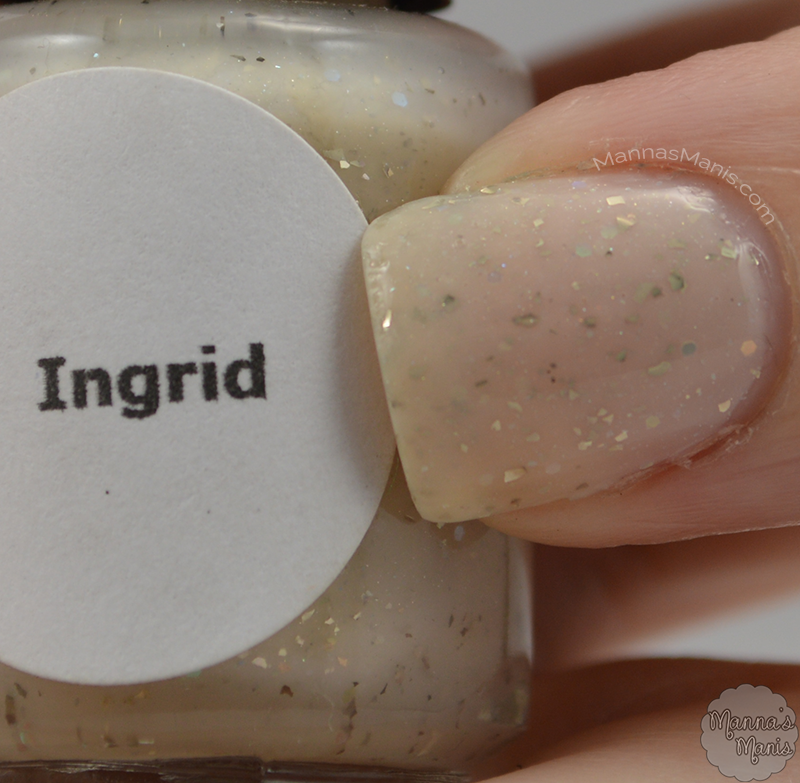Ingrid, a nude polish from indie Glam Glaze