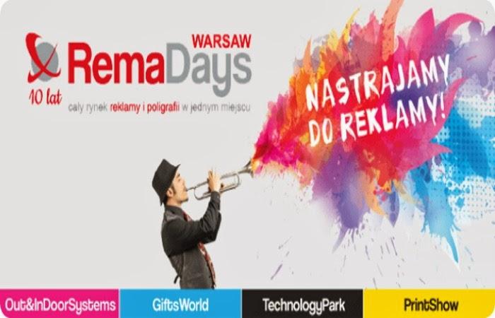 Obraz: plakat promujący REMA DAYS 2014