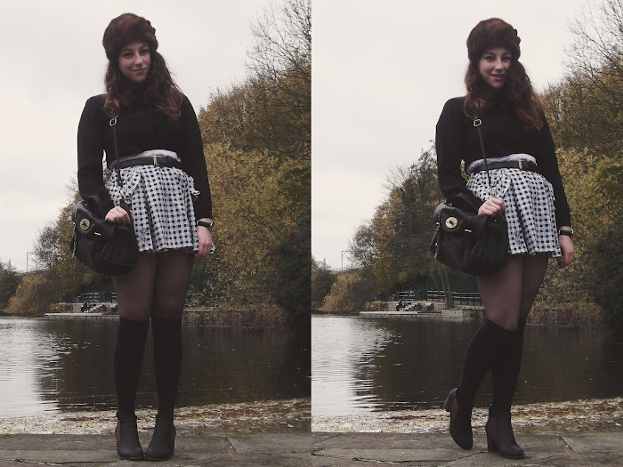 it's cohen - uk style blog: wiwt, ootd, winter fashion, laura lees, tartan scarf