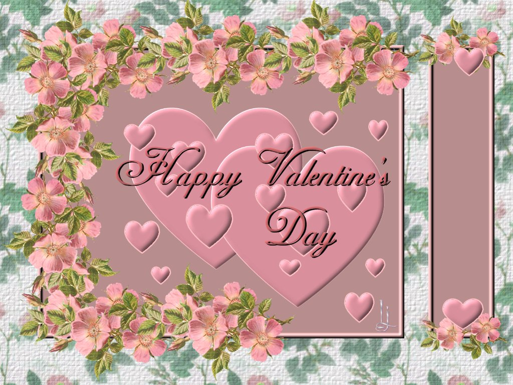 love heart wallpaper: happy valentines day wallpaper