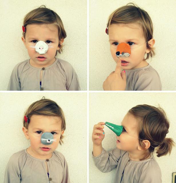 Animal Noses Craft