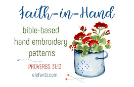 Come join my stitchery club and receive 3 new bible based patterns each month