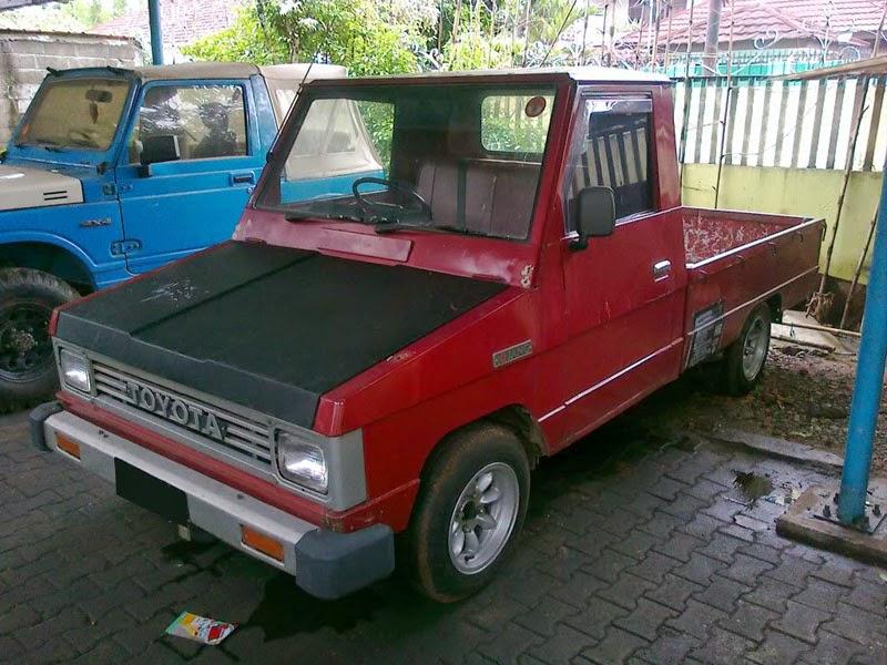 Modifikasi Mobil Toyota Kijang Pick UP 1985
