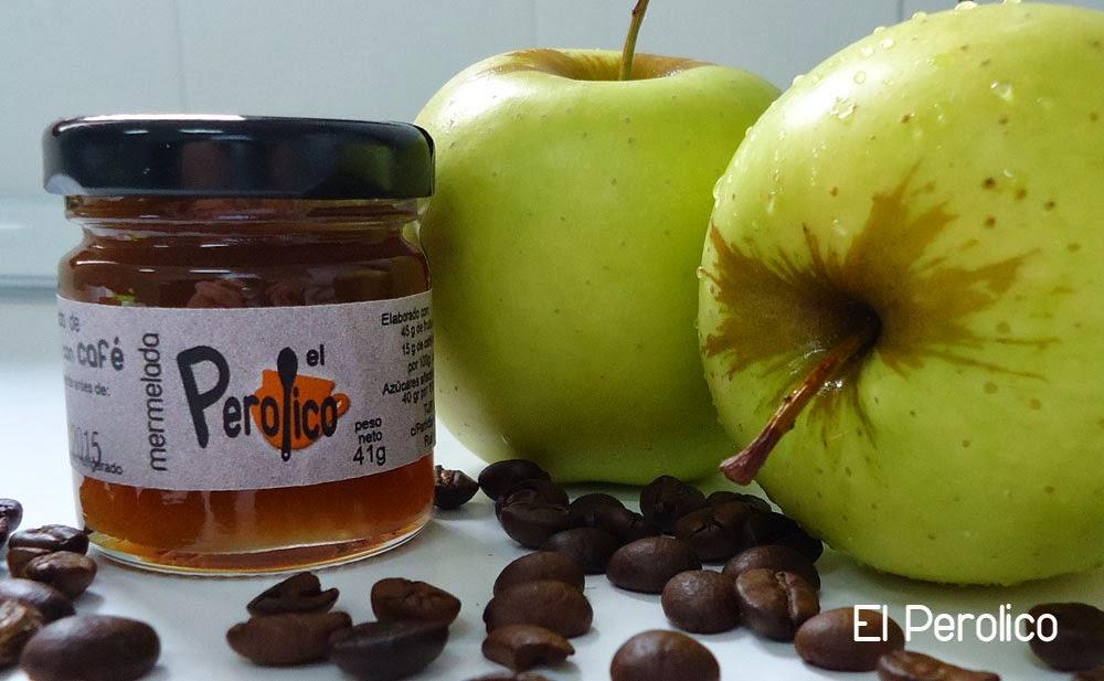Mermelada de manzana con café   Mermeladas El Perolico