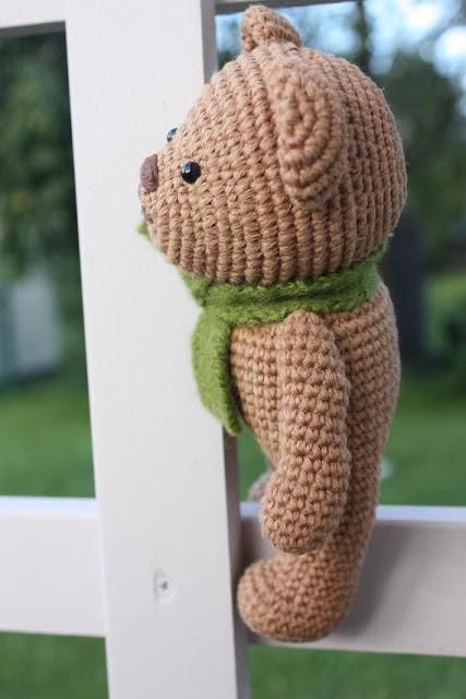 Crochet Amigurumi Bear Patterns : Happyamigurumi: Amigurumi Teddy Bear pdf Pattern is ready