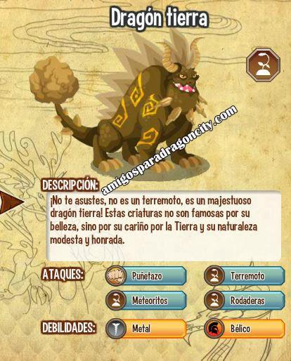 imagen de las caracteristicas del dragon tierra