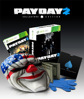 payday 2 collectors edition xbox 360 Payday 2 (360/PC/PS3)   Collectors Edition & Overview Video