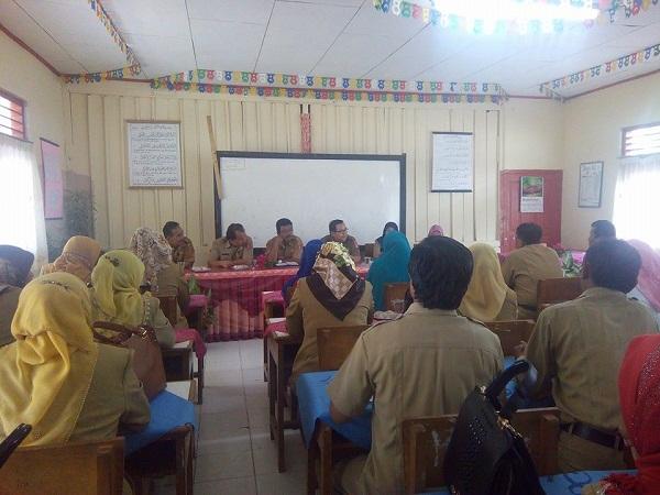 Penilaian Sekolah Adiwiyata kabupaten Agam