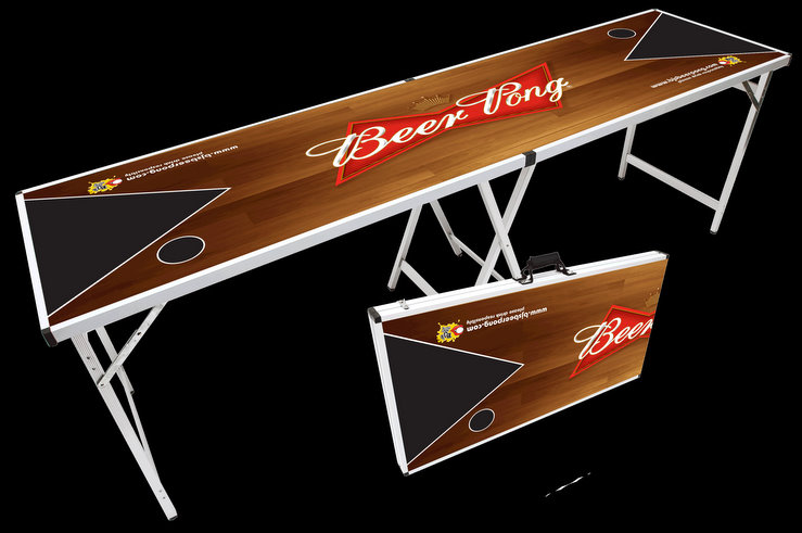 Awesome cheap beer pong table for Bj custom designs