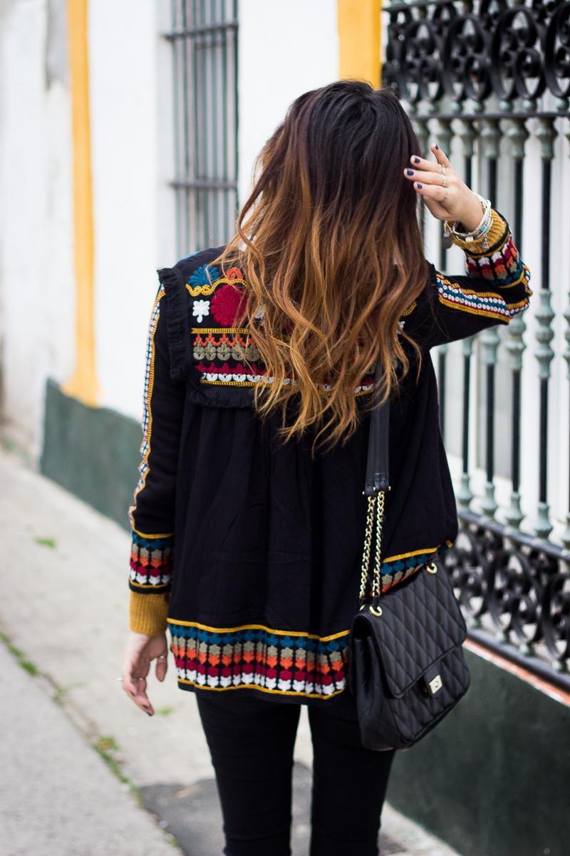 chaqueta estilo mexicano