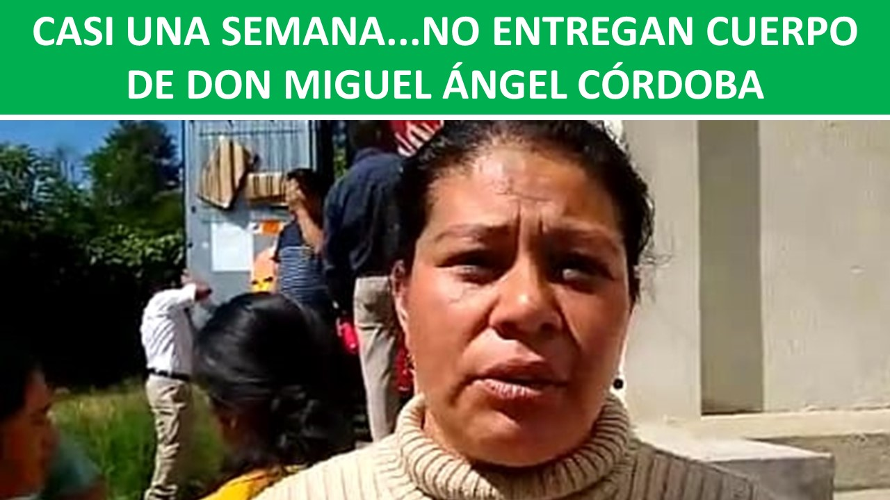 DON MIGUEL ÁNGEL CÓRDOBA