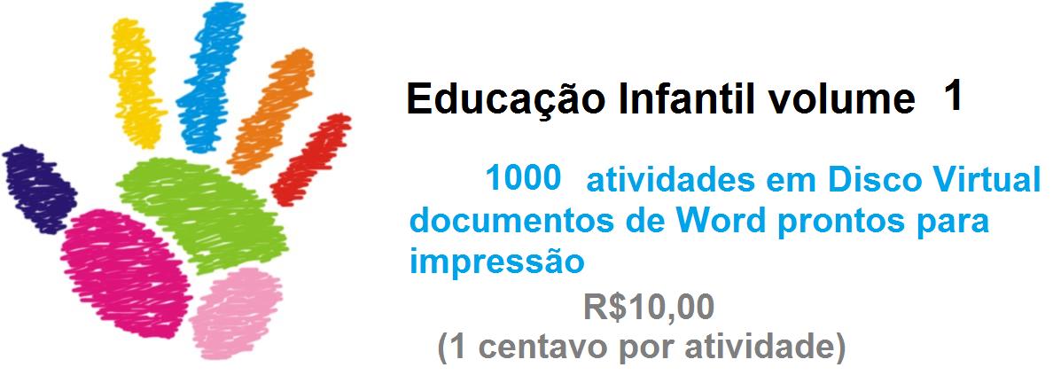 Educação Infantil volume 1