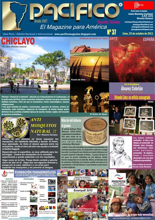 Revista Pacífico Nº 37 Turismo