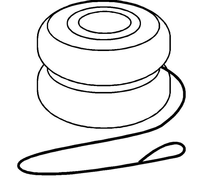 Coloring Pages Yoyo : Free coloring pages of y is for yoyo