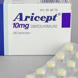 A box of Aricept