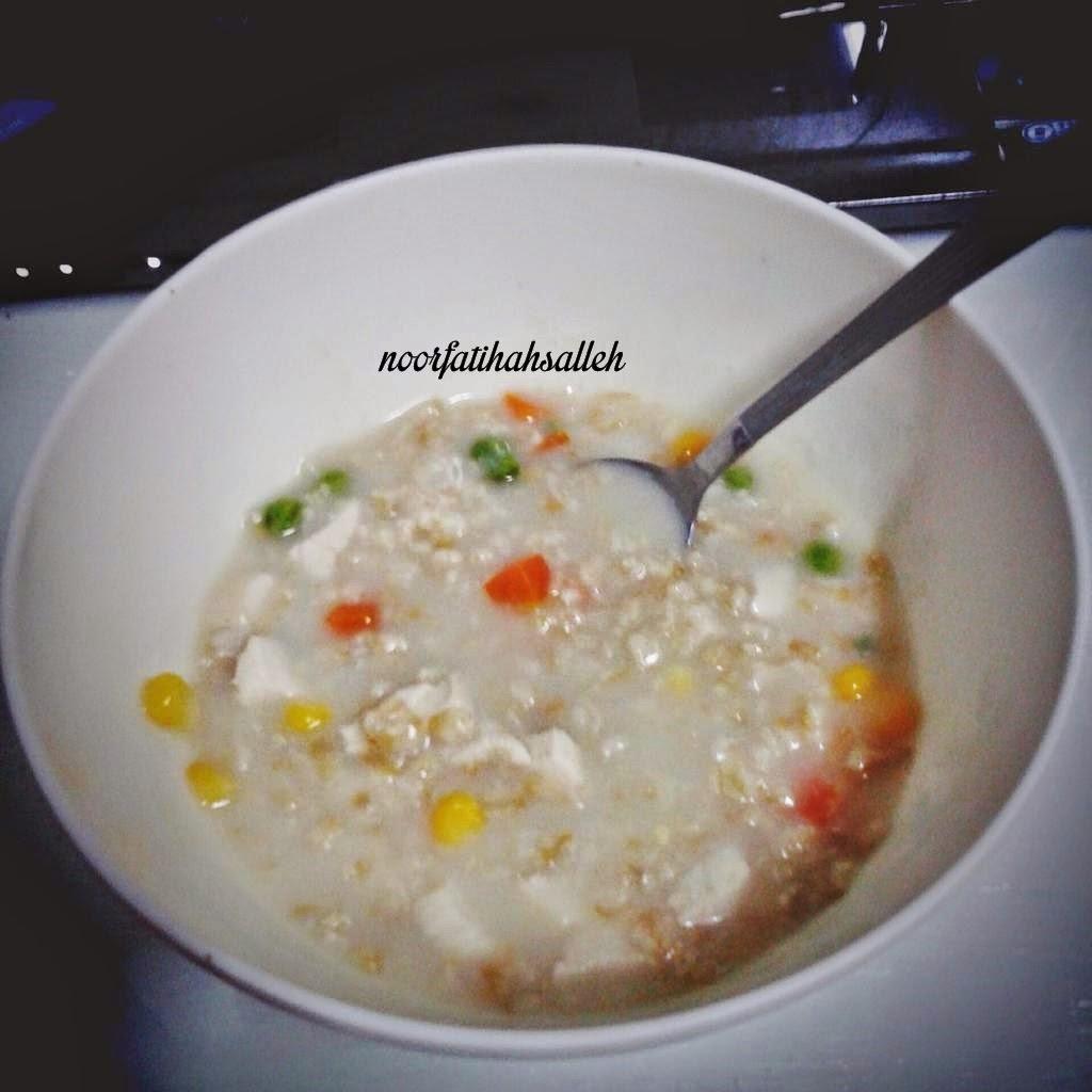Chicken Oat Porridge