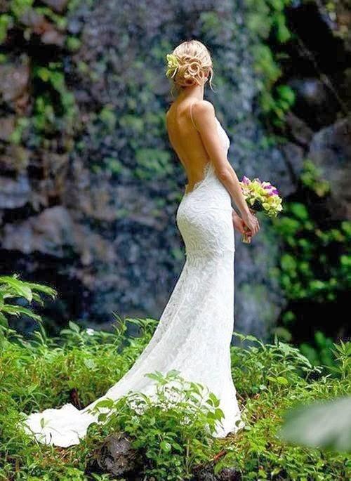 vestido novia espalda al aire