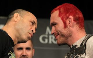 UFC 132 Vanderlei Silva vs Chris Leben