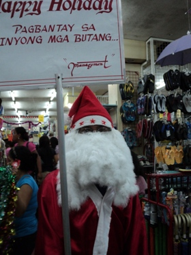 third world Santa