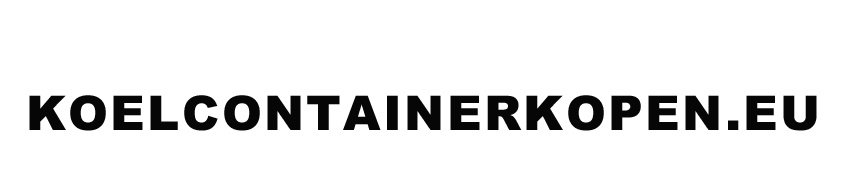 Koel Container Kopen