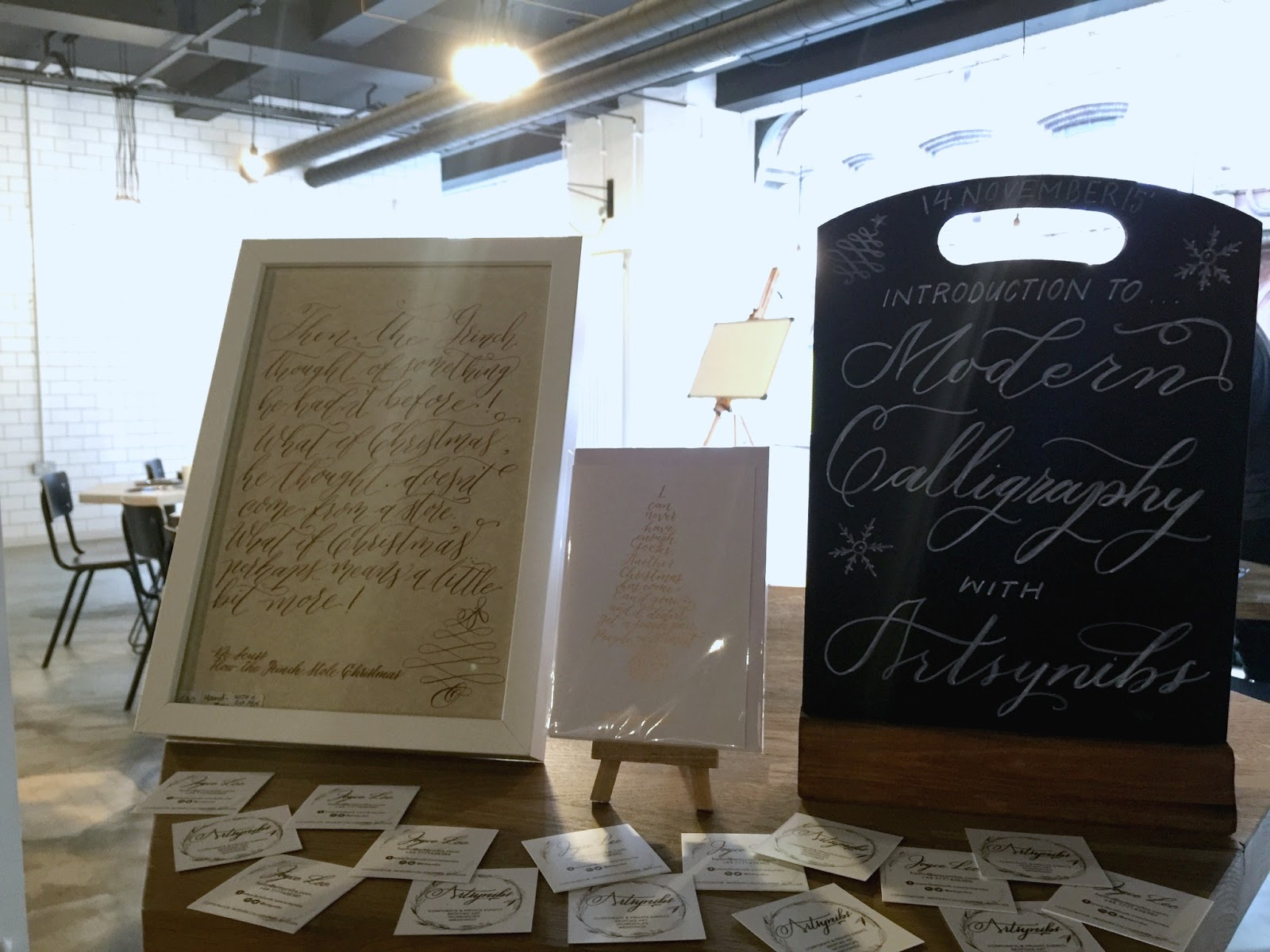 An Introduction to Modern Calligraphy