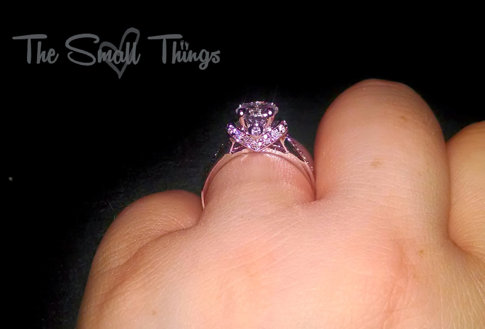 Faux Diamond Rings for the Holidays GiftGuide The Small Things