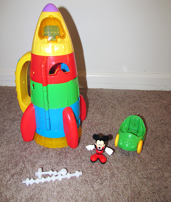 Rocket Toys For 3 Year Olds : Fisher price mickey space rocket page pics about