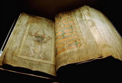 """O lendário Codex Giga - """"A Bíblia do Diabo"""""""