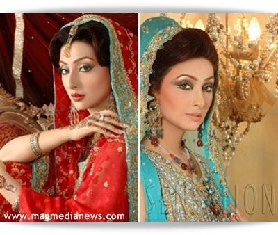 Ayesha Khan & Humayoon Saeed Wedding Pictures - B & G Fashion