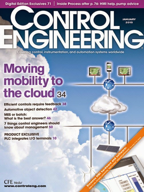 Control Engineering Magazine - January 2015