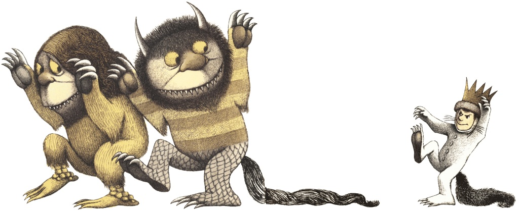 çizgili masallar: Where the Wild Things Are by Maurice Sendak