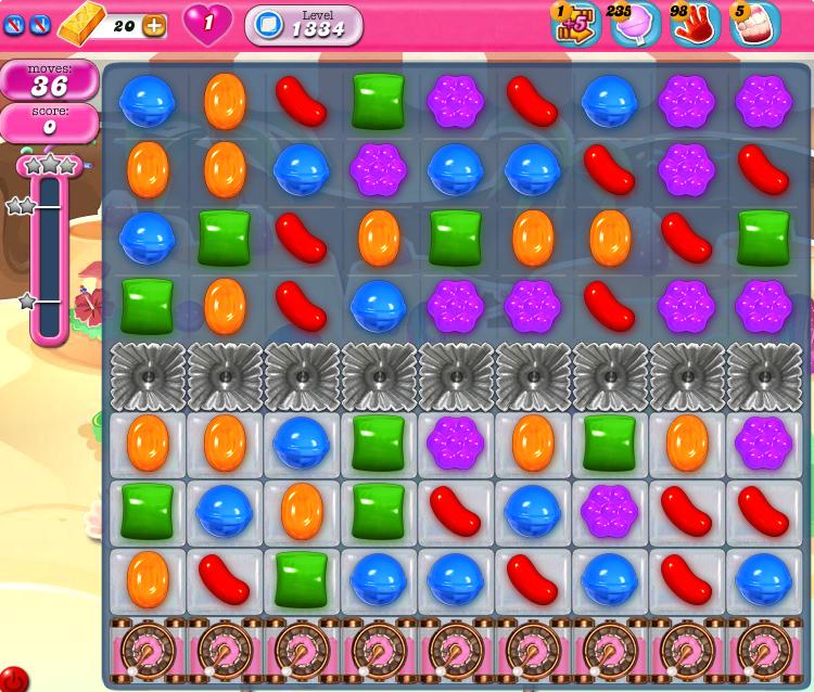 Candy Crush Saga 1334