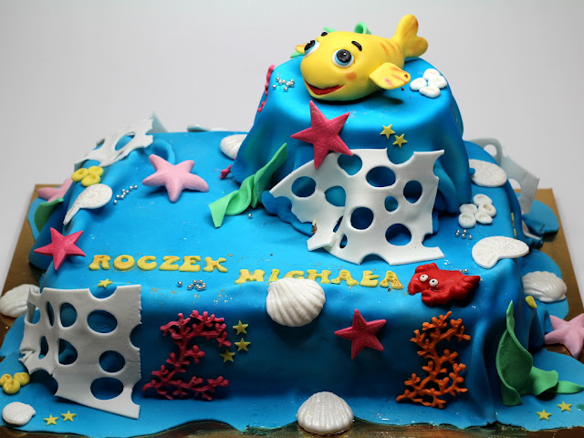 Coral Reef Birthday Cake - Best Cakes in London