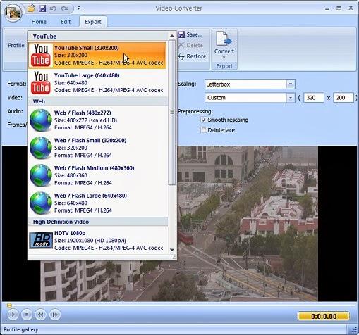 تحميل برنامج تحويل صيغ الفيديو Free Video Converter