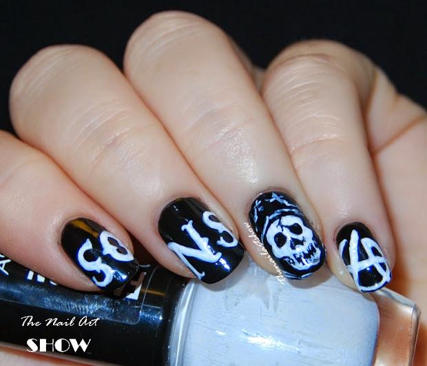 nail art show ride hard