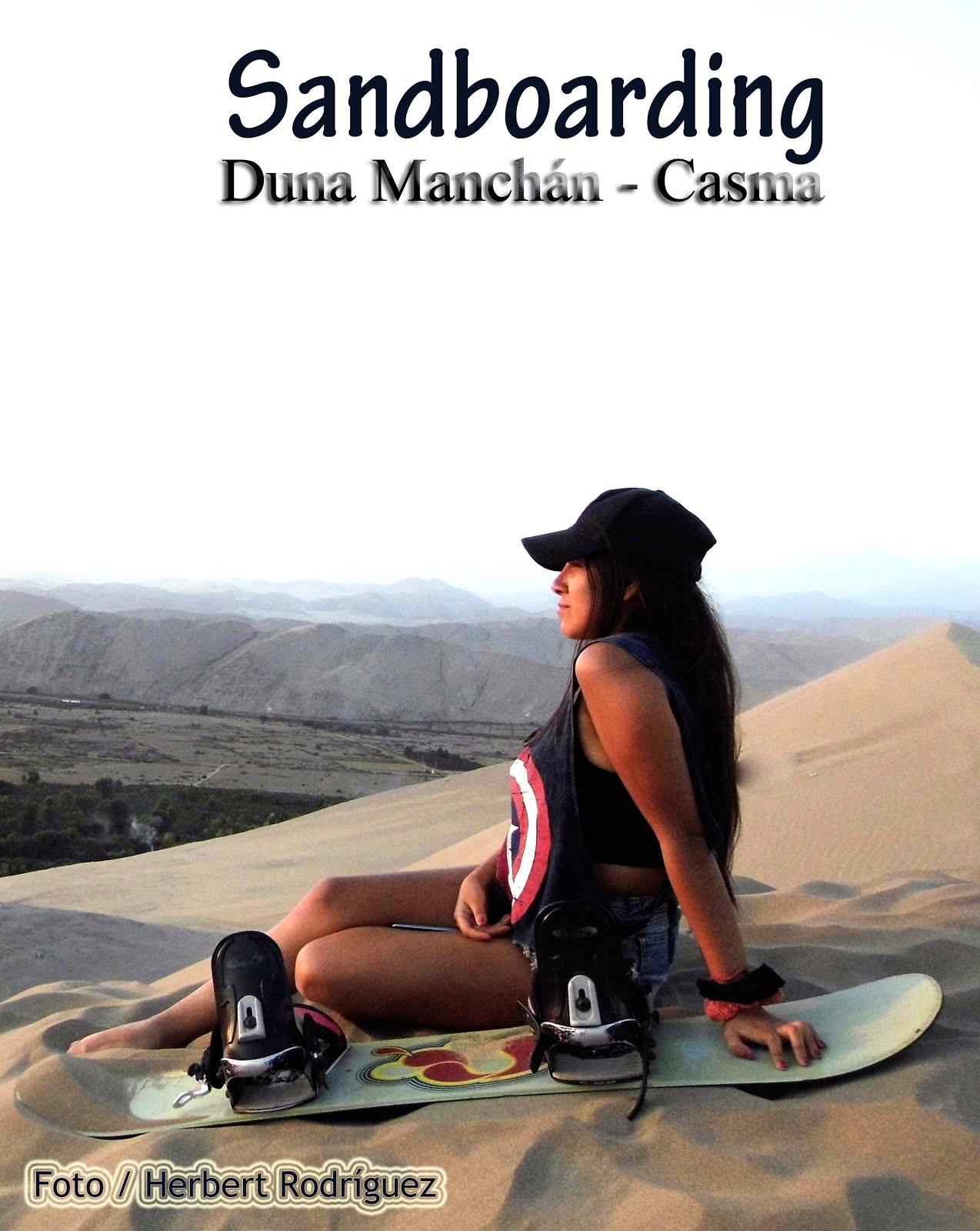 Sandboarding en la Duna Manchán