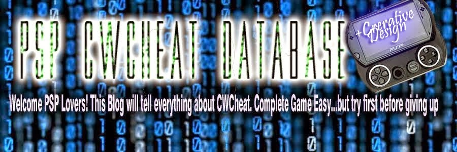 PSP CWCHEAT DATABASE